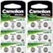 Camelion Plus pila a bottone alcalina AG13/LR44/LR1154/357: Amazon.it: Elettronica