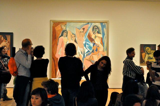 Pablo Picasso, Les desmoiselles d'Avignon