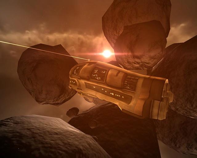 Trenex at asteroid belt