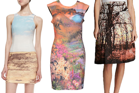 Trend to Try: Landscape Prints