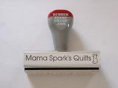 Mama Spark's stamp
