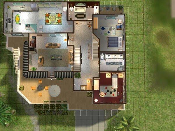 Design De Maison Minimaliste: Maison Moderne De Luxe Plan
