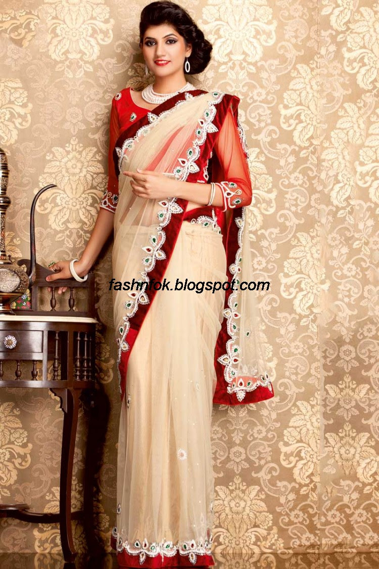 Bridal-Wedding-Wear-Sari-Lehenga-Choli-Latest-Brides-Outfit-for-Girls-Women-2013-12