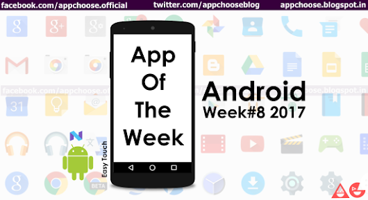 Android App of the week #8 2017