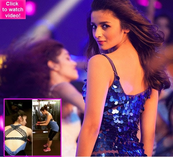 Alia Bhatt's fashion sense is so on point, EVEN while working out – watch video!