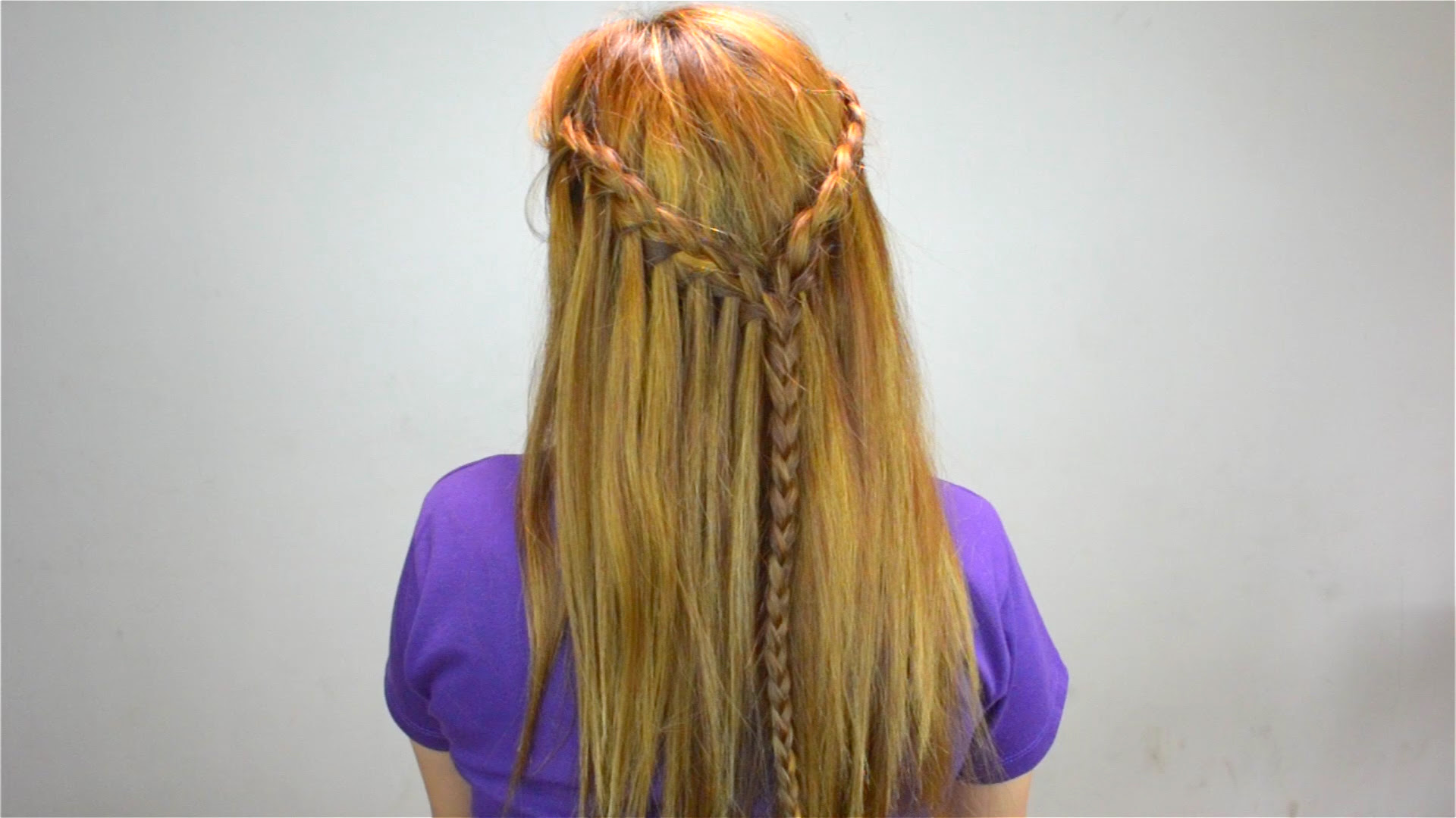 4 Easy Ways to Style Very Long Hair - wikiHow