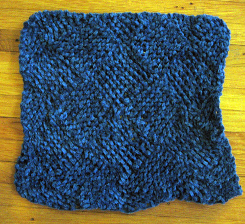 2nd garterlac washcloth