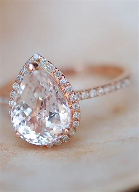 25  best ideas about Peach engagement rings on Pinterest