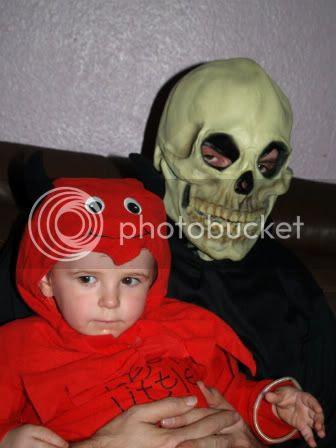 Cameron & Daddy Halloween 2010