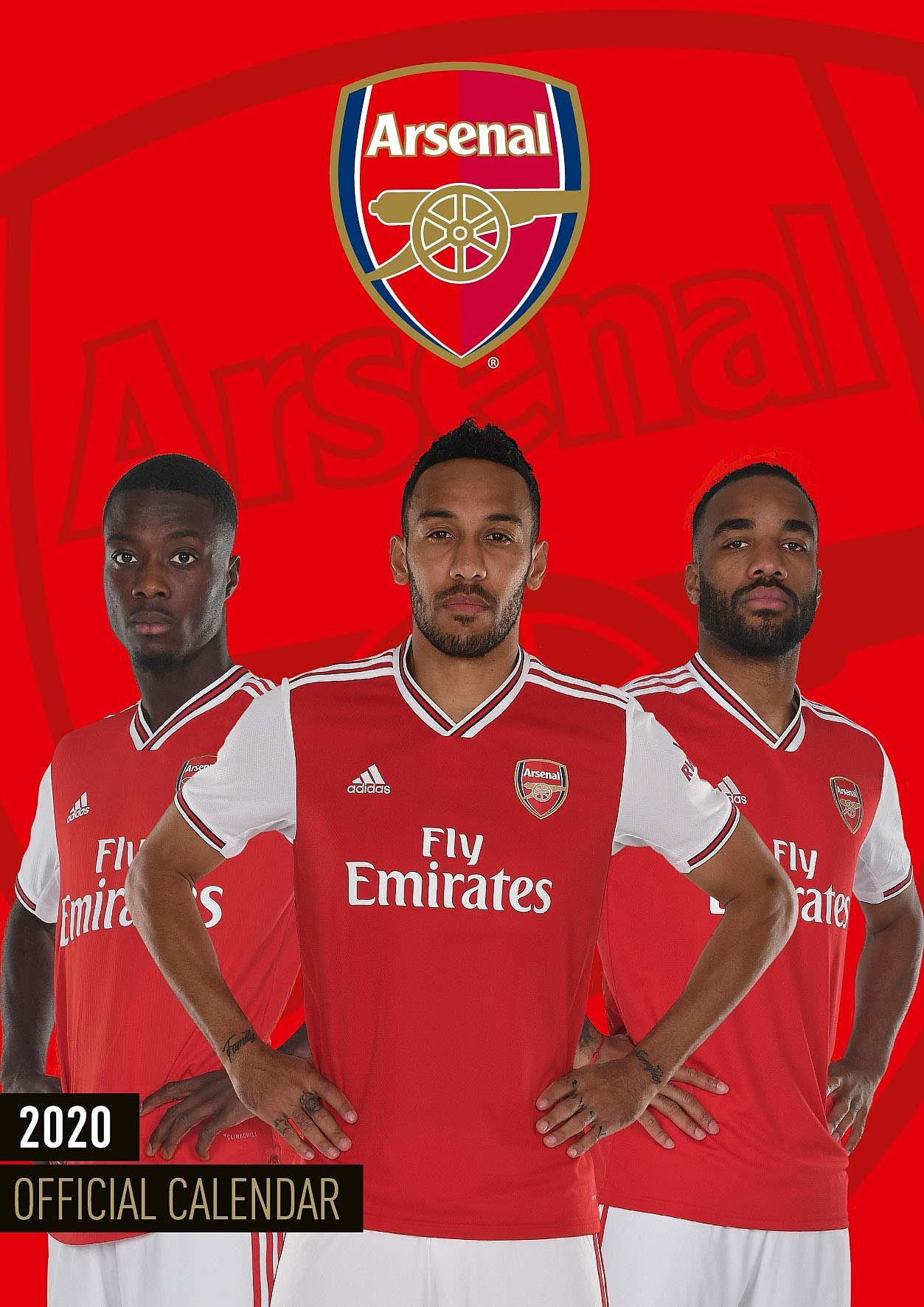 Buy Arsenal FC Calendar 2020   GAME