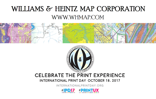 CELEBRATE THE PRINT EXPERIENCE WITH WILLIAMS & HEINTZ MAP