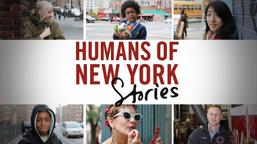 "Talking to strangers: Stanton's tactics for ""Humans of New York"""