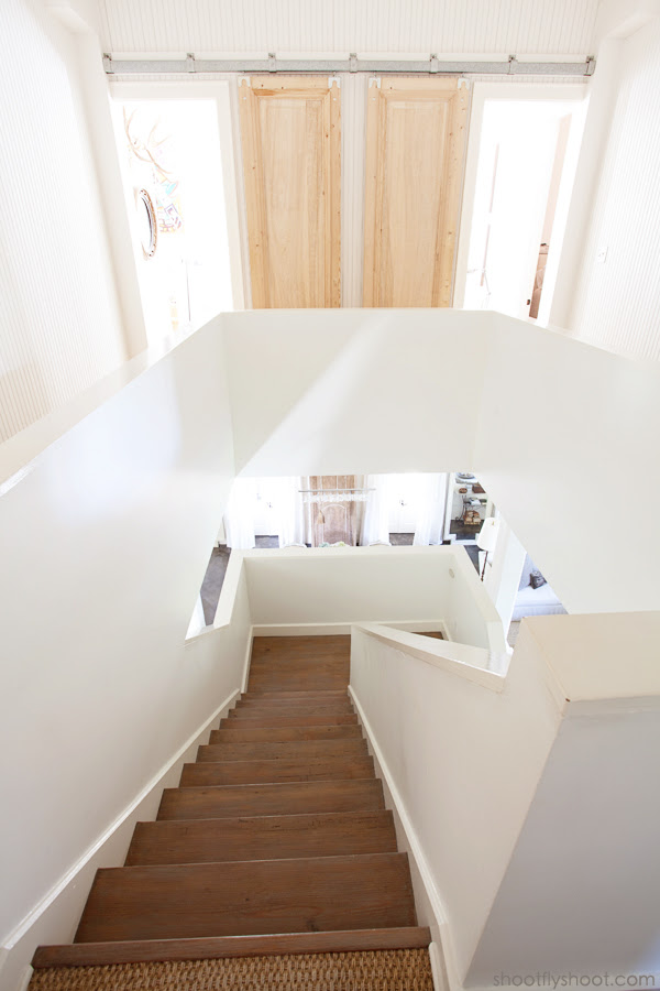 Atchison Home | Staircase | Sliding Barn Doors