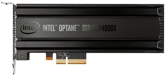 Intel Optane SSD DC P4800X With 3D Xpoint Memory Debuts Ultra-Low Latency Storage, New Memory Tier | HotHardware