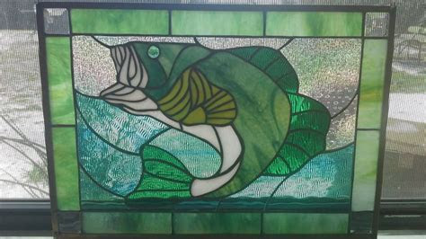 images  stained glass fish  pinterest
