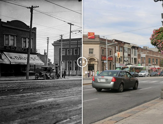 A then-and-now photo tour of St. Clair Avenue West