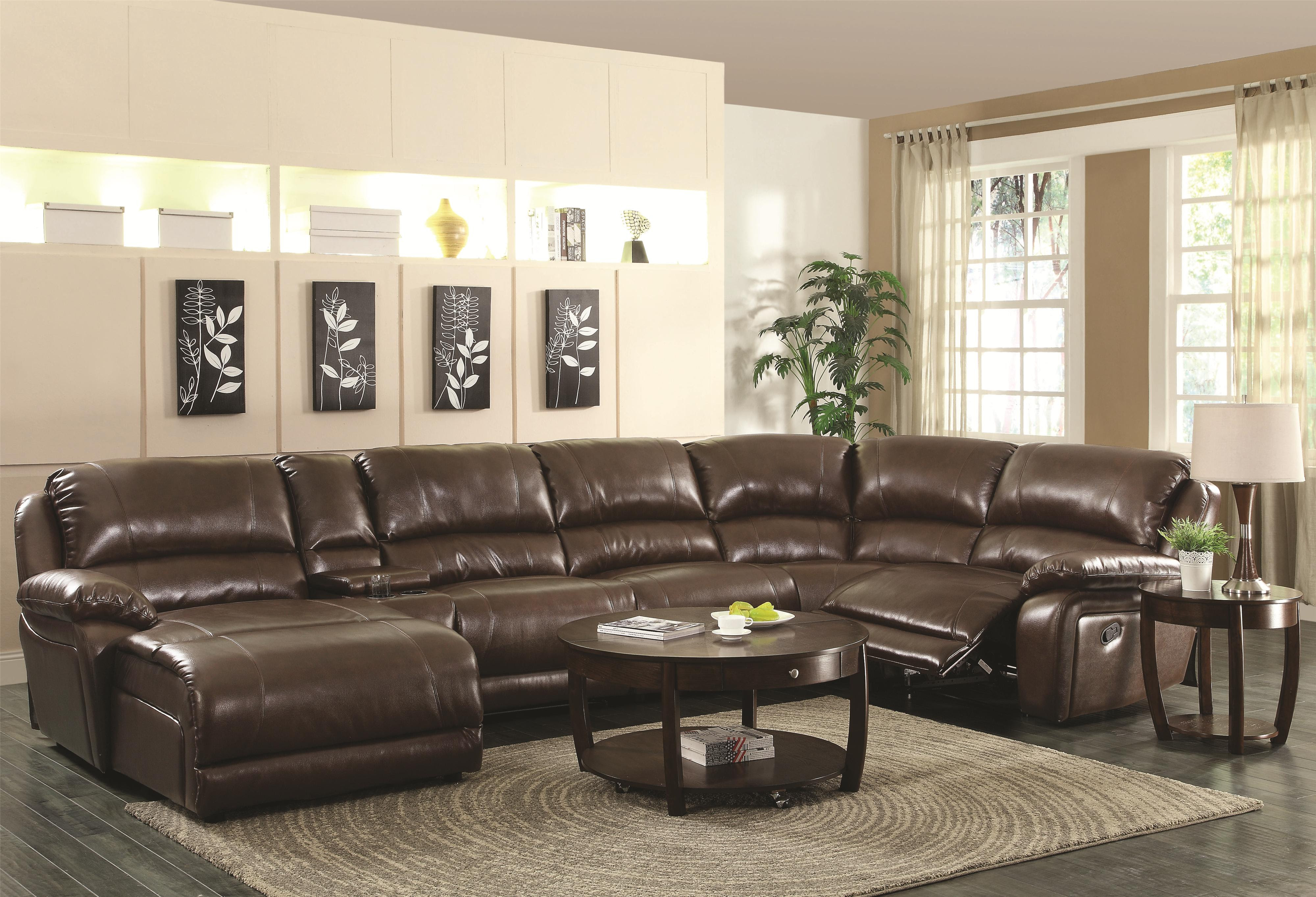 Best Sectional Sofas with Recliners and Chaise - HomesFeed