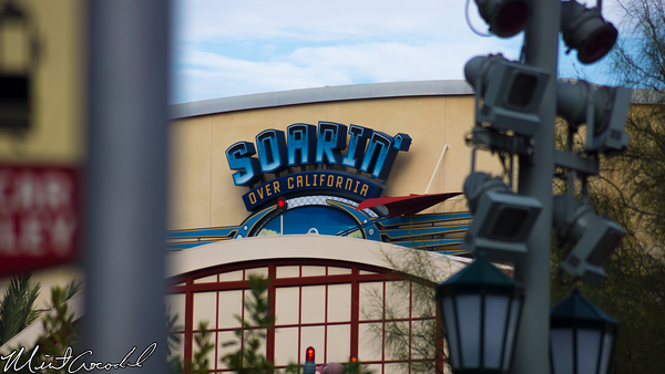Disneyland Resort, Disney California Adventure, Condor, Flats, Grizzly, Airfield, Soarin'