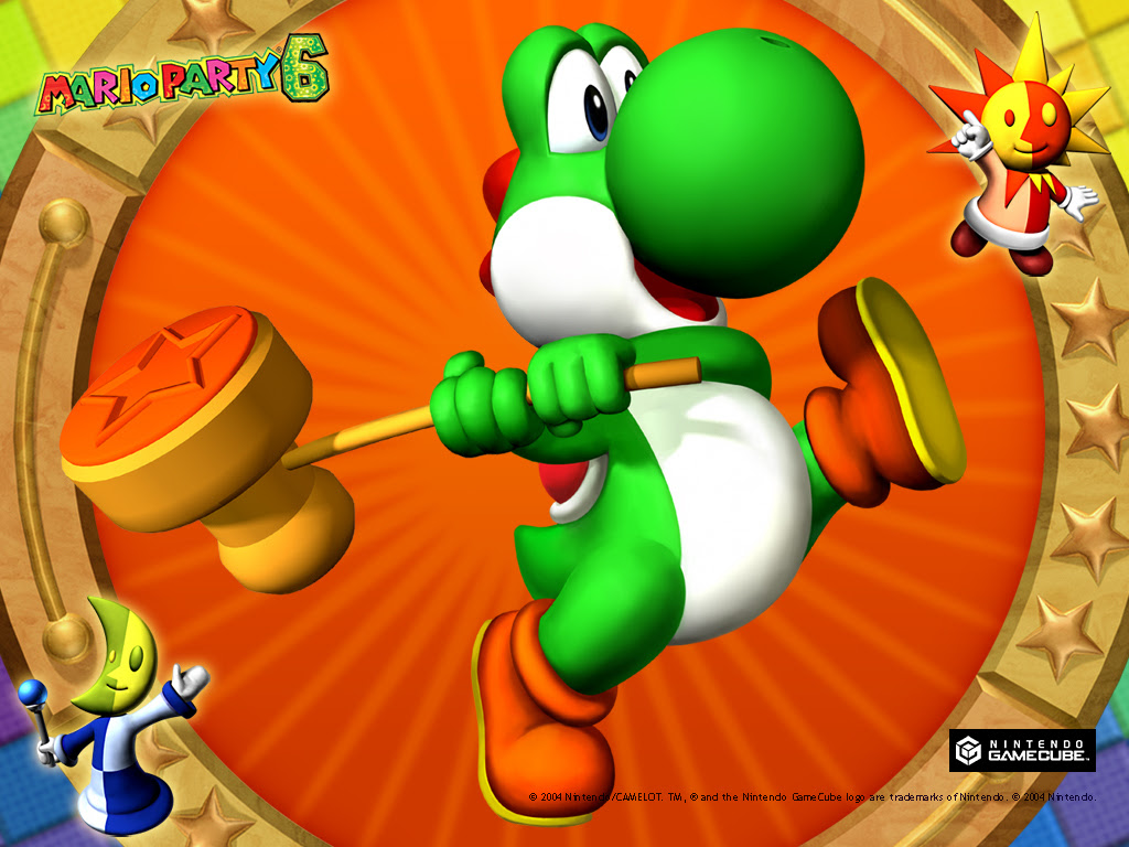 Mario Party 6 Yoshi Wallpaper Mario Party Wallpaper 3407626