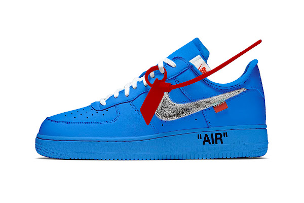 52da9b5481bc2 Blue Off-White™ x Nike AF1 Rumored to Release at Museum of Contemporary Art  Chicago