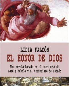 Portada del libro de Lidia Falcón 'El honor de Dios'