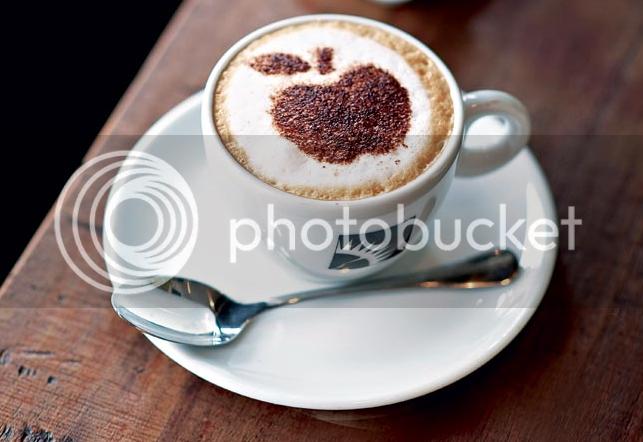 Café decorado com estêncil: prático e lindo!