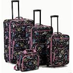 Rockland Peace 4 PC Luggage Set