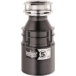InSinkErator Badger 5 Garbage Disposal - Gray