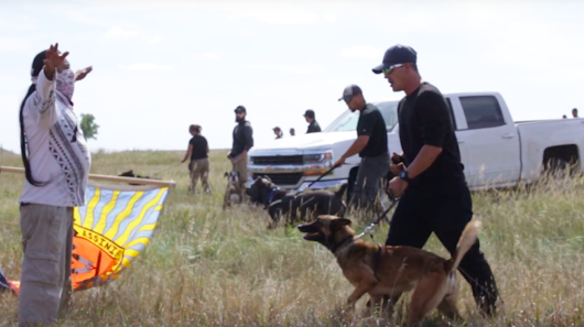 Protection of Sacred Sites Leads to Clash with Dakota Access Private Security