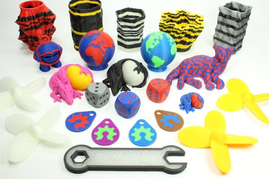 Turn Your Standard FDM/FFF 3D Printer into a Multicolor, Multi-Material Marvel with the Prometheus System, on Kickstarter September 6th