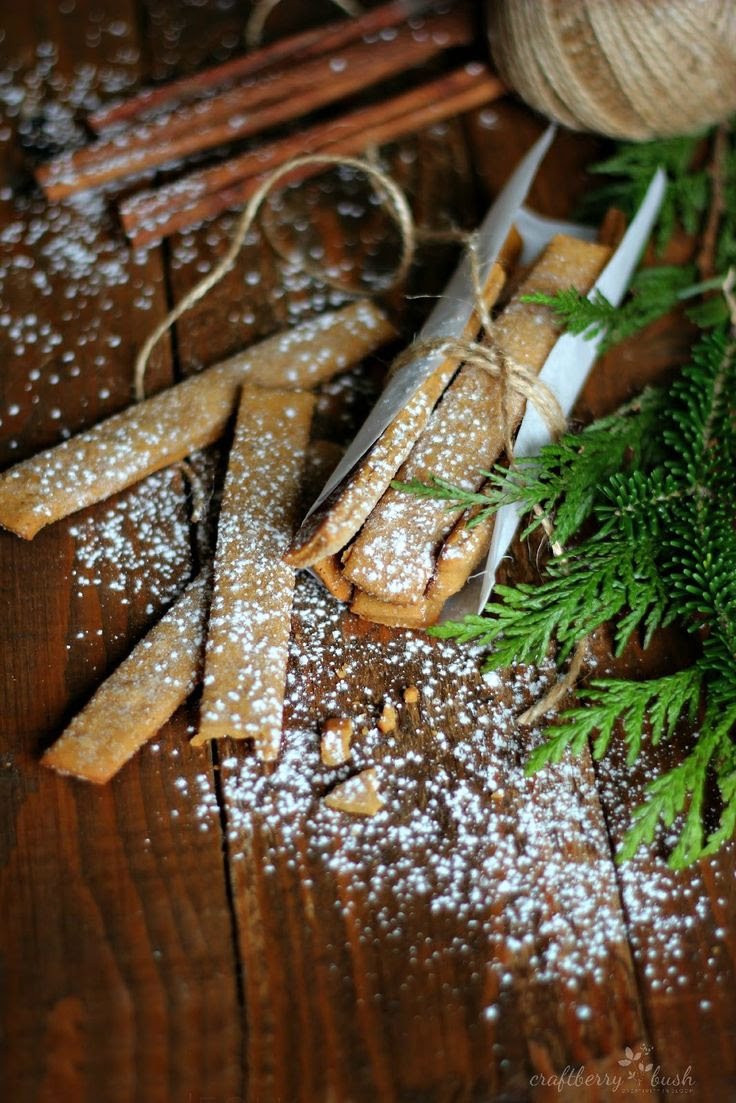 Gingerbread Sticks....A unique twist on the gingerbread cookie from Craftberry Bush | Friday Christmas Favorites from www.andersonandgrant.com