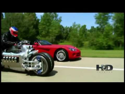 Dodge Tomahawk. Yep its a Viper!!