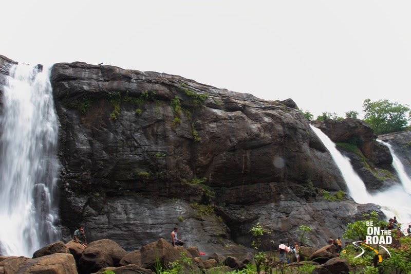 Athirapally Falls from the bottom