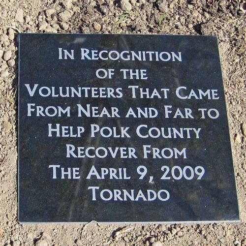 Volunteer Recognition Marker