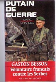 """Ο κ Μπεσσόν είχε εκδώσει και βιβλίο με τίτλο """"Πολεμώντας τους Σέρβους"""""""