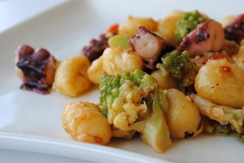 gnocchi polpo e broccoli 024