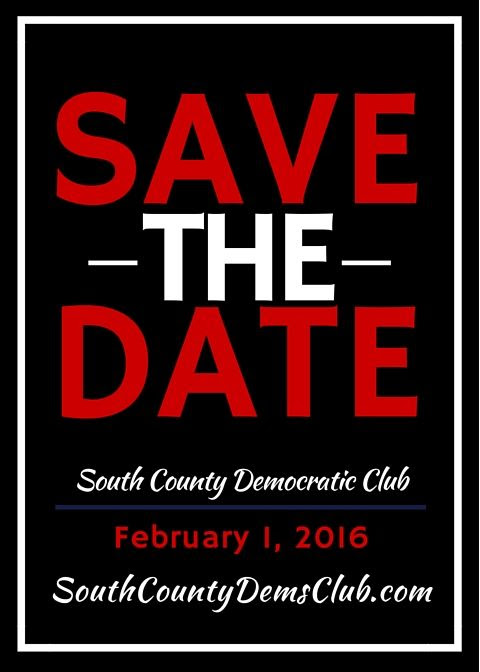 South County Democratic Club Meeting February 2016 - South County Democratic Club | PRLog