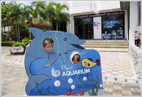 Kids at Phuket Aquarium