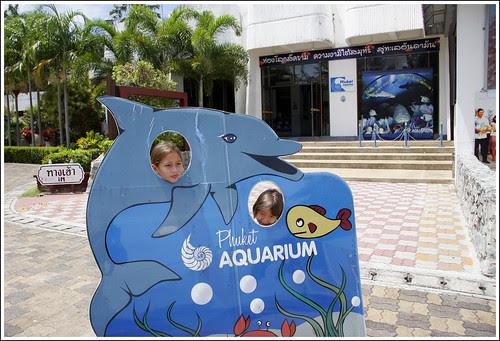 Kids at Phuket Aquarium
