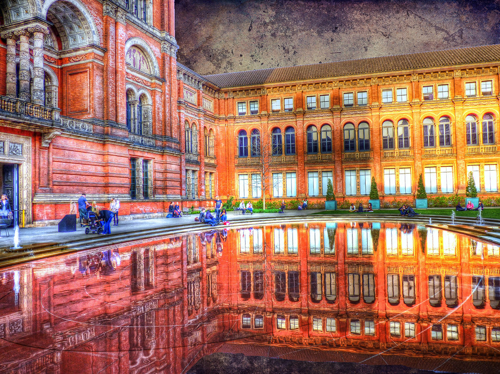 The Victoria and Albert museum HDR