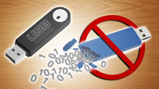 How Can I Reduce the Risk of Data Corruption and Loss on a USB Drive?