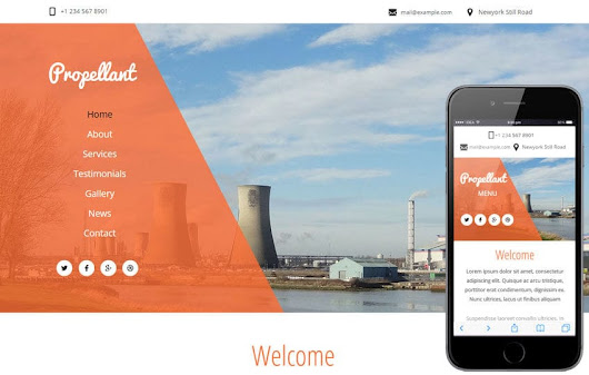 Propellant a Industrial Category Flat Bootstrap Responsive Web Template by w3layouts
