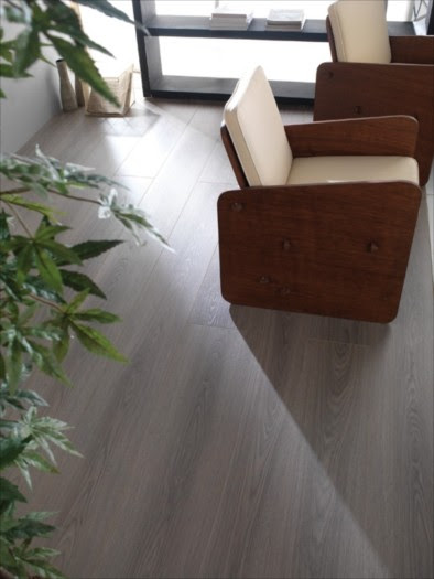 Porcelanosa Laminate Roble Texas - Modern - Living Room - by ...
