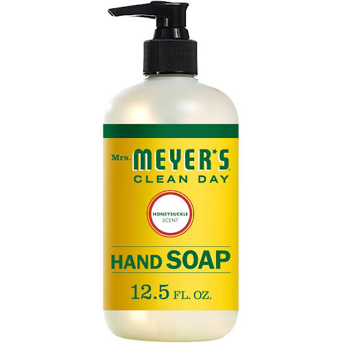 Mrs. Meyer's Clean Day Liquid Hand Soap, Honeysuckle Scent - 12.5 oz bottle