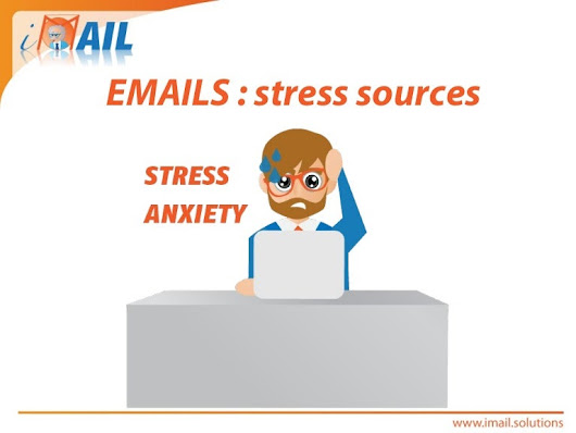 How can email related employee stress be managed ?