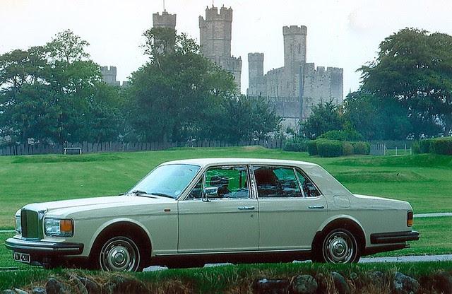 718 FUW - 1980 Bentley Mulsanne - How it looked when it began life !