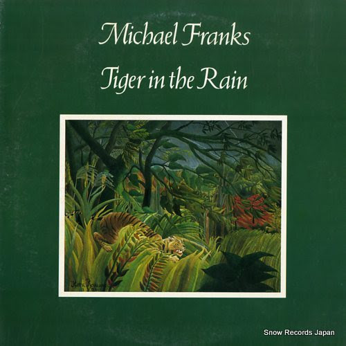 FRANKS, MICHAEL tiger in the rain