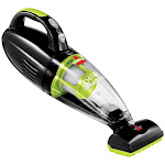 BISSELL Pet Hair Eraser 1782 Pet Vacuum, 14 V, 4-1/2 in W Cleaning Path, Black/ChaCha Lime