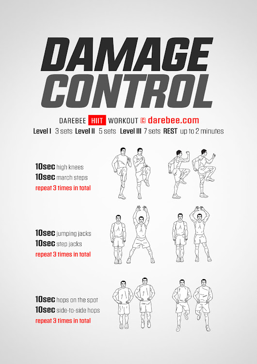 Damage Control Workout
