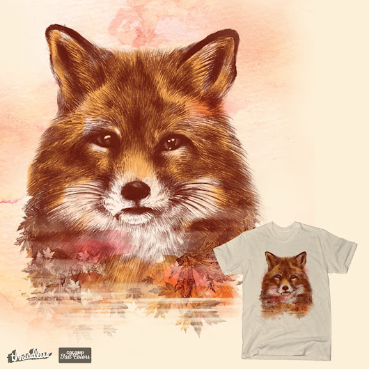 The Red Fox on Threadless